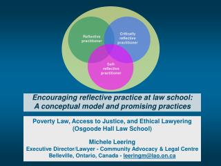 Poverty Law, Access to Justice, and Ethical Lawyering  (Osgoode Hall Law School) Michele Leering