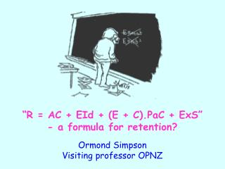 """R = AC + EId + (E + C).PaC + ExS"" - a formula for retention?"