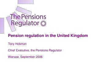 UK pensions: the landscape