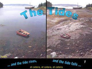 ... and the tide rises,