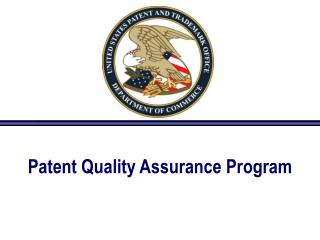 Patent Quality Assurance Program