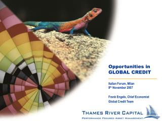 Opportunities in  GLOBAL CREDIT