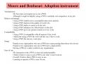Moore and Benbasat: Adoption instrument