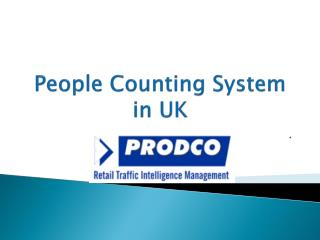 People Counting System in UK - www.prodcotech.com#