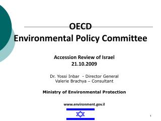 OECD  Environmental Policy Committee