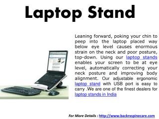 Laptop Stand India