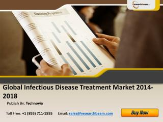 Global Infectious Disease Treatment Market Size 2014-2018