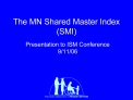 The MN Shared Master Index SMI