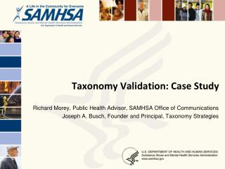 Taxonomy Validation: Case Study