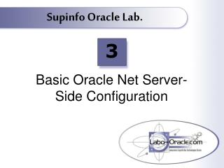 Basic Oracle Net Server-Side Configuration