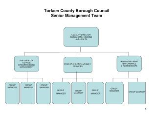 Torfaen County Borough Council Senior Management Team