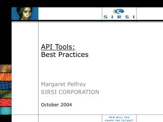 API Tools: Best Practices