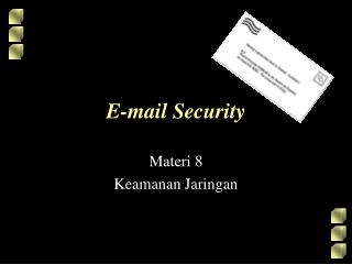 E-mail Security
