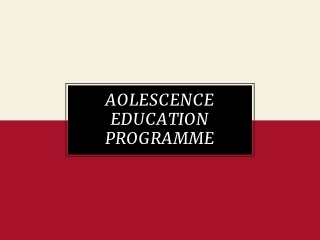 Adolescent HIV Prevention: Creative Approaches