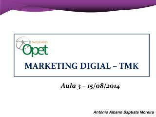 Aula 3 – 15/08/2014