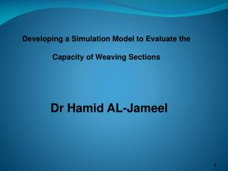 Dr  Hamid  AL- Jameel