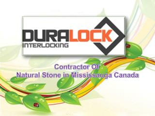 Natural Stone in Mississauga