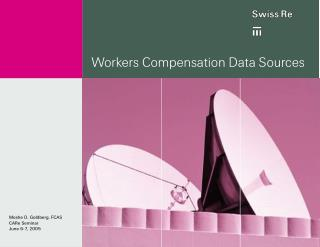 Workers Compensation Data Sources