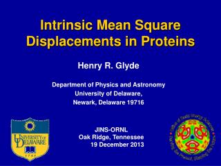 Intrinsic Mean Square Displacements in Proteins