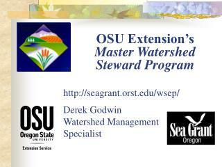 OSU Extension's  Master Watershed Steward Program