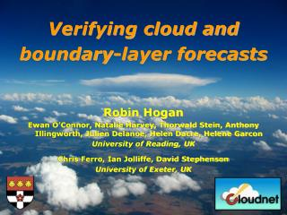 Verifying cloud and boundary-layer forecasts
