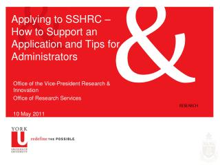 Applying to SSHRC –  How to Support an Application and Tips for Administrators