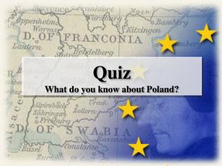Quiz What do you know about Poland?