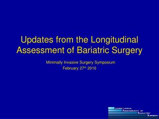 Bariatric surgery in evolution-1990s-2002  	3,328 gastric bypass  	1.9% 30-day mortality