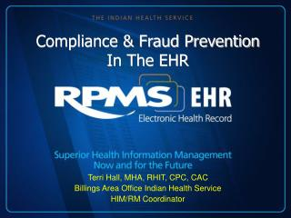 Compliance & Fraud Prevention In The EHR