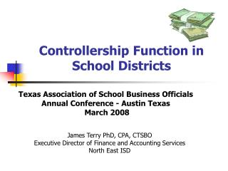 Controllership Function in School Districts