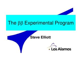 The   Experimental Program