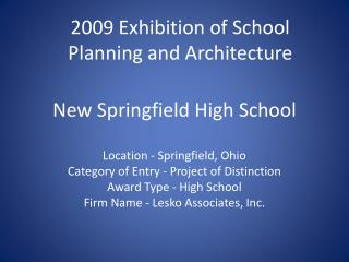 New Springfield High School