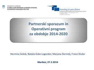 Hermina Golob, Nataša Kobe Logonder, Marjana Dermelj, Franci Klužer Maribor, 27.3.2014