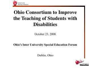 Ohio Consortium to Improve the Teaching of Students with Disabilities