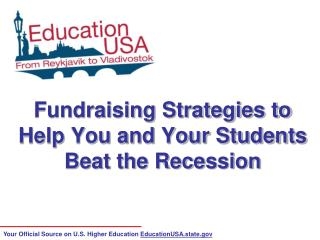 Fundraising Strategies to Help You and Your Students Beat the Recession