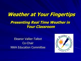 Weather at Your Fingertips