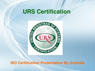Standard ISO Certification For ISO 9001 QMS and ISO 27001 Ce