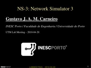NS-3: Network Simulator 3