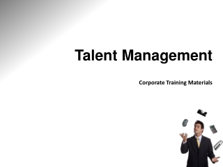 Talent Management Corporate Training Materials
