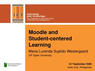 Moodle and  Student-centered Learning