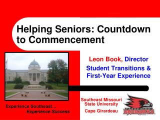 Helping Seniors: Countdown to Commencement