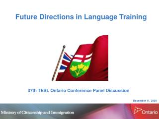 Future Directions in Language Training