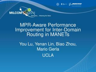 MPR-Aware Performance Improvement for Inter-Domain Routing in MANETs