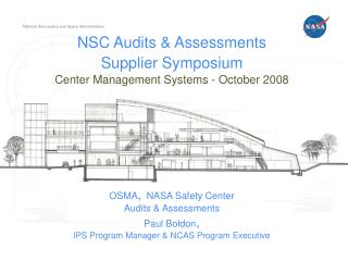 OSMA/NSC Audits and Assessments Division