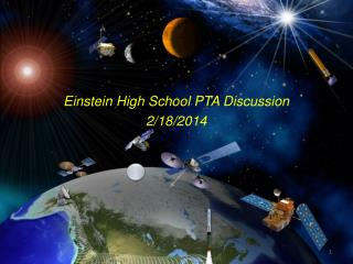 Einstein High School PTA Discussion 2/18/2014
