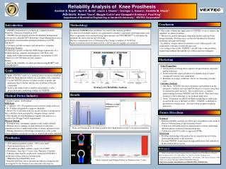 Reliability Analysis of  Knee Prosthesis