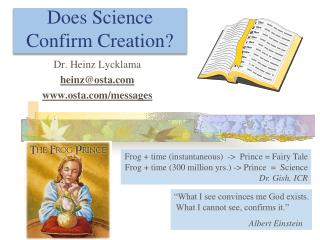 Does Science Confirm Creation?