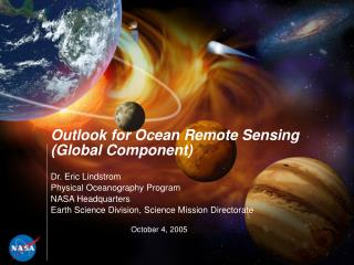 Outlook for Ocean Remote Sensing (Global Component)