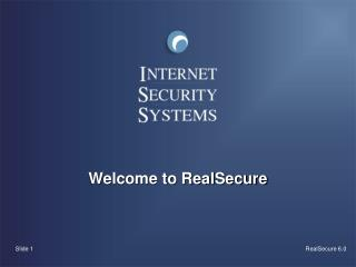 Welcome to RealSecure