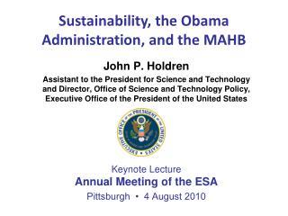 John P. Holdren